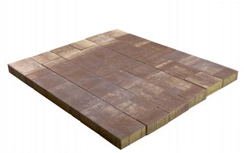Тротуарная плитка BRAER Старый город Ландхаус, эверест, h= 60