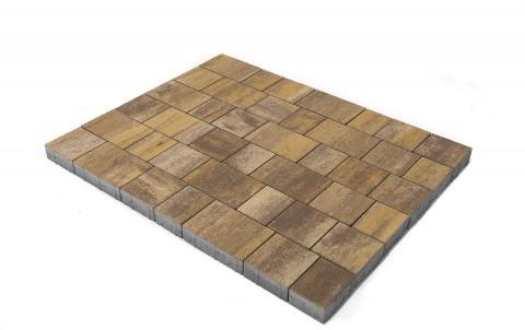 Тротуарная плитка BRAER Старый город Венусбергер, степь, h= 60