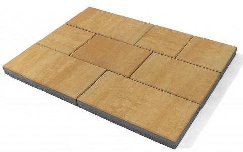 Тротуарная плитка BRAER Триада, сахара, h= 60