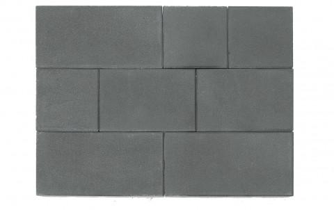 Тротуарная плитка BRAER Триада, серый, h= 60 (тестовая партия)