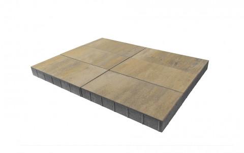 Тротуарная плитка BRAER Сити, песчанник, h= 80