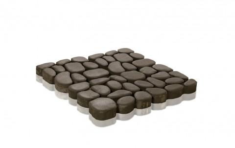 Бетонная газонная решетка Грин Галет, двухслойная, 500x500x80