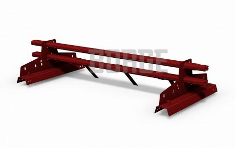 снегозадержатель BORGE для профнастила H-114 цвет RAL3011, 1m
