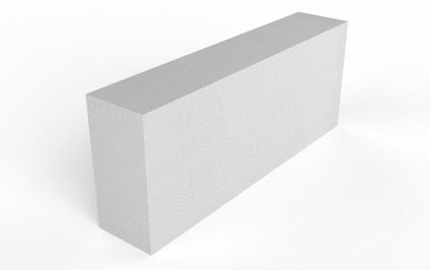 Газобетонный перегородочный блок D600 Bonolit (125 мм)