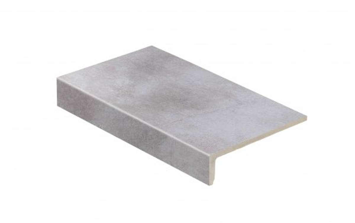 Клинкерные ступени STROEHER, E705 beton, серия AERA T, размер 294x175x52x10