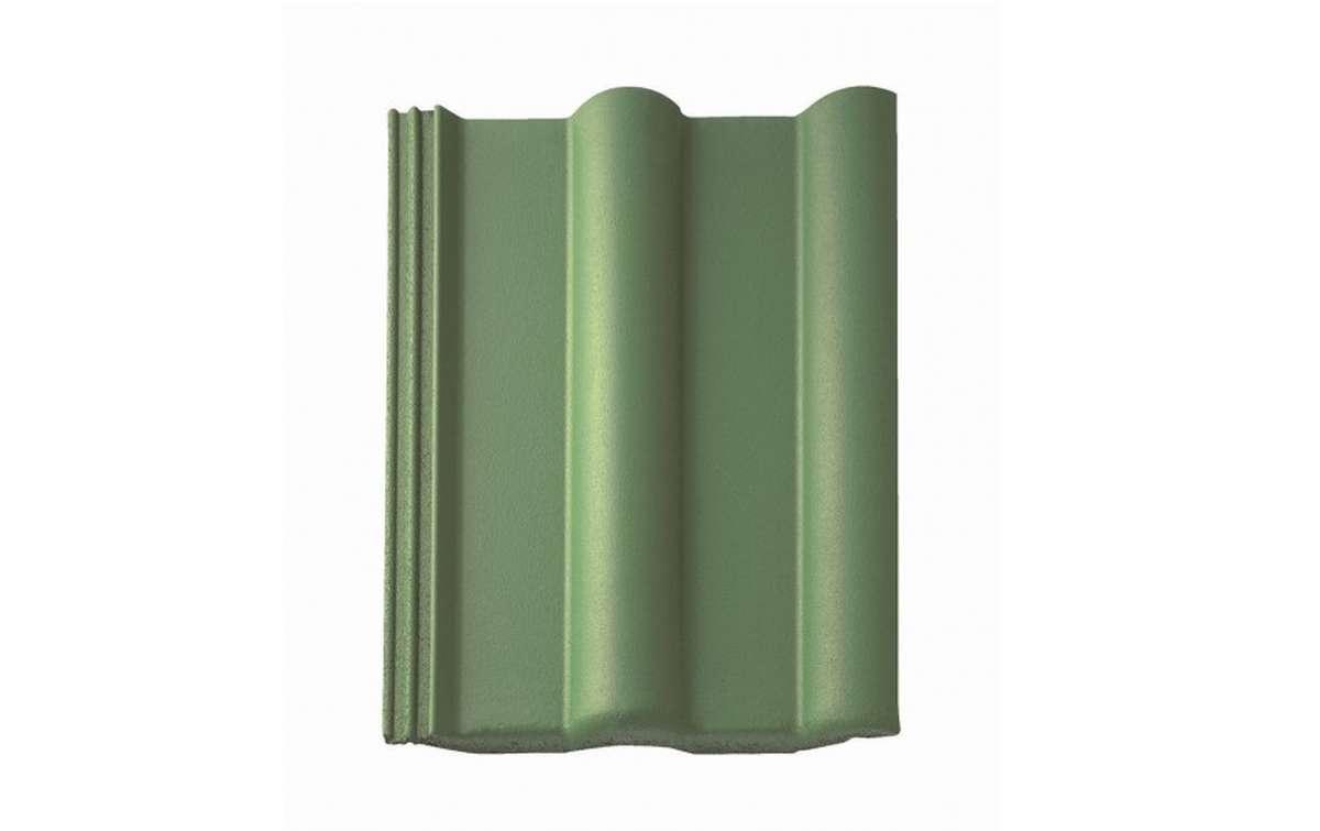 Цементно-песчаная черепица (минеральная) BRAAS  Франкфуртская, зеленая