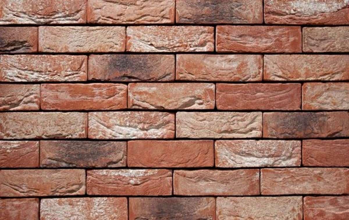 Фасадная плитка ручной формовки vandersanden  24. Barok, М65 рядовая