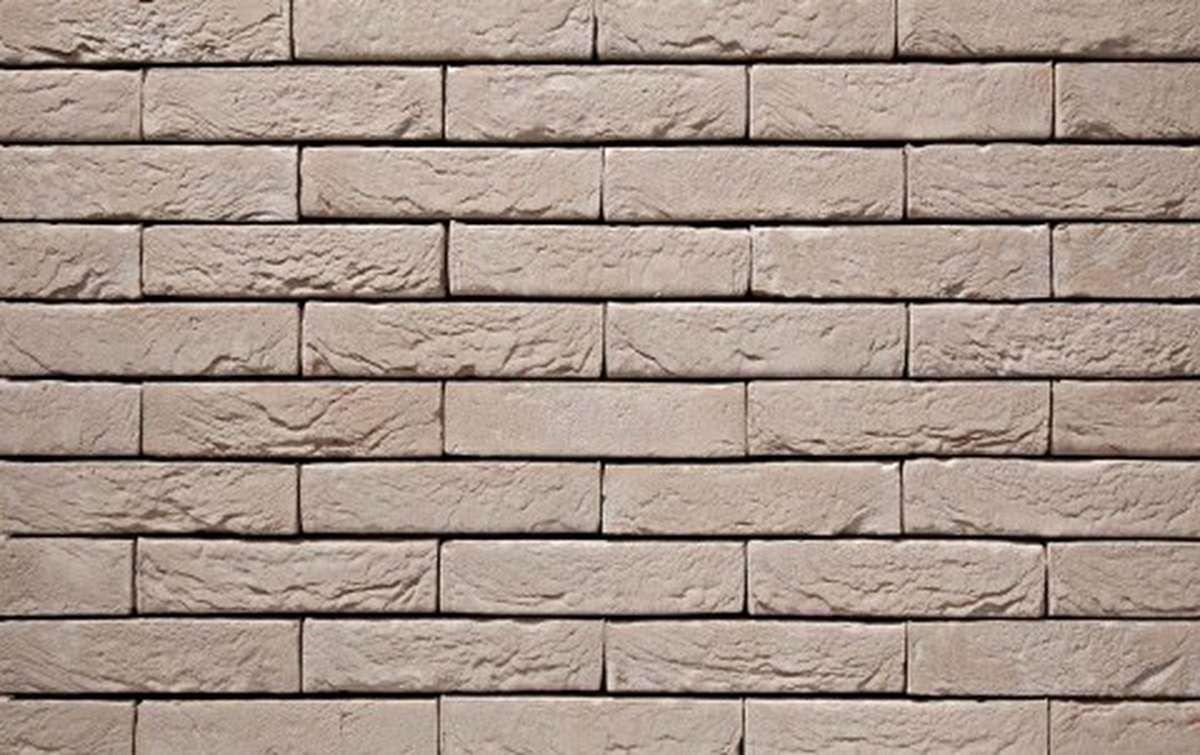 Фасадная плитка ручной формовки vandersanden  43. Argentis, М50 рядовая