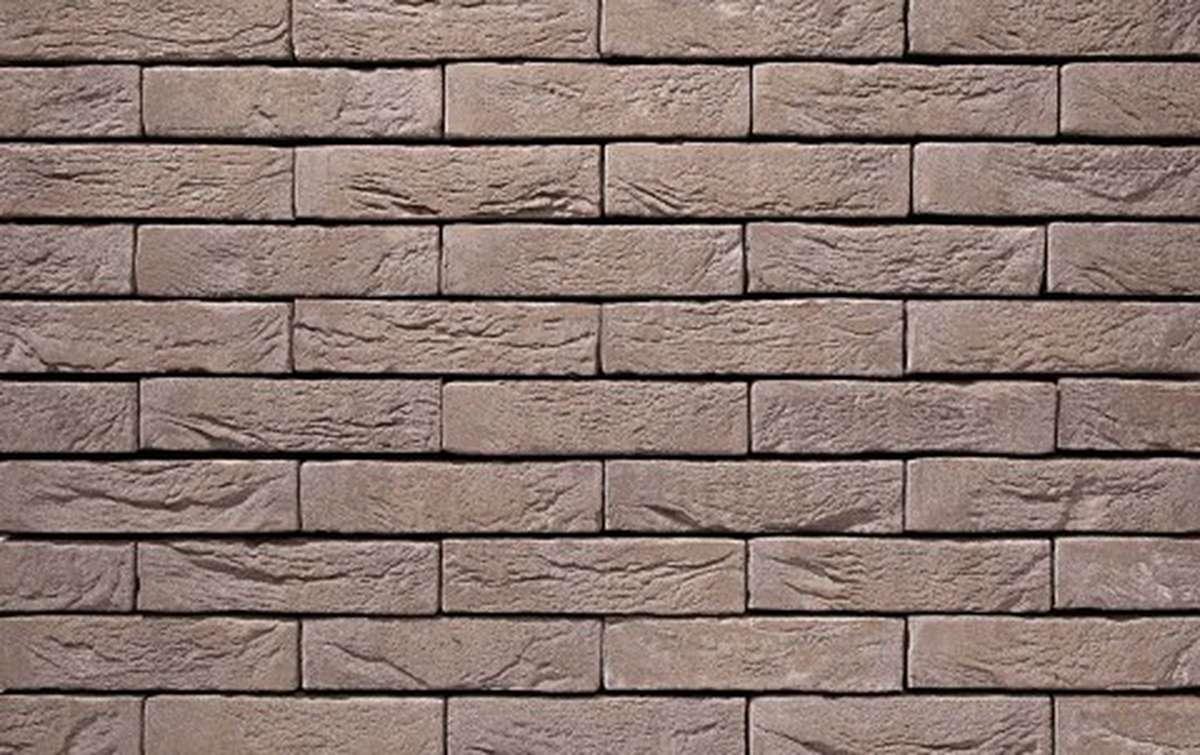 Фасадная плитка ручной формовки vandersanden  4. Platina, М50 рядовая