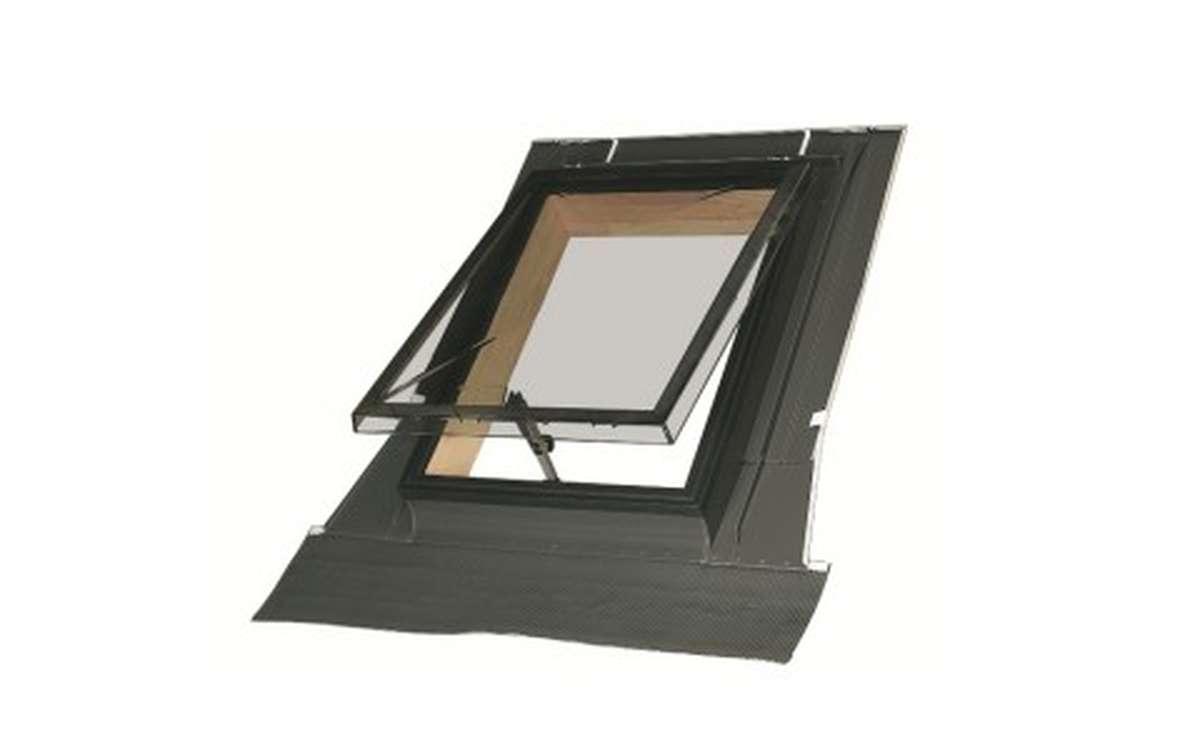 Мансардное окно для нежилых чердаков FAKRO WSZ 86x86