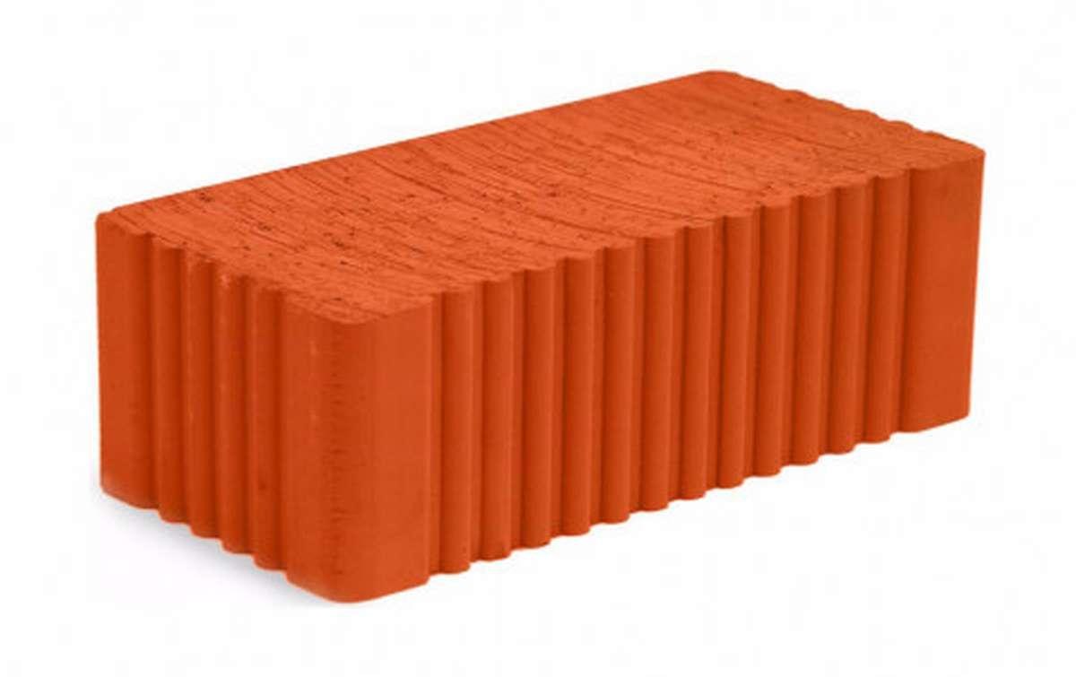 Рядовой кирпич МСТЕРА полнотелый красный 1,4НФ М-150