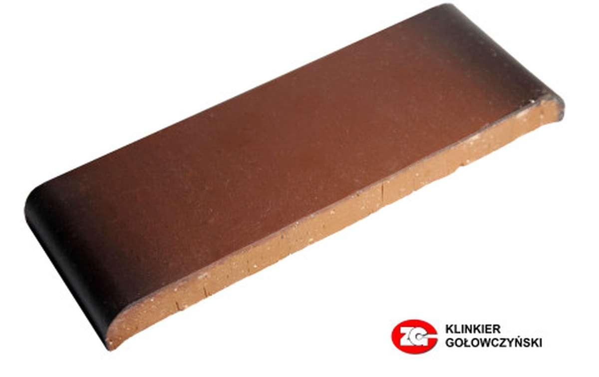 Парапетная плитка (Плоский профильный кирпич) ZG, 305x110x25, ольха