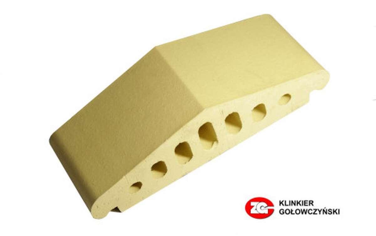 Профильный кирпич ZG, 170x110x65, желтый