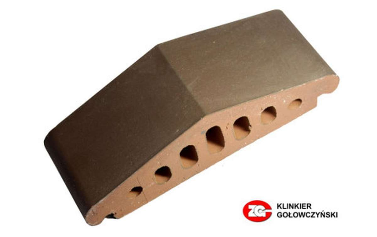 Профильный кирпич ZG, 170x110x65, коричневый