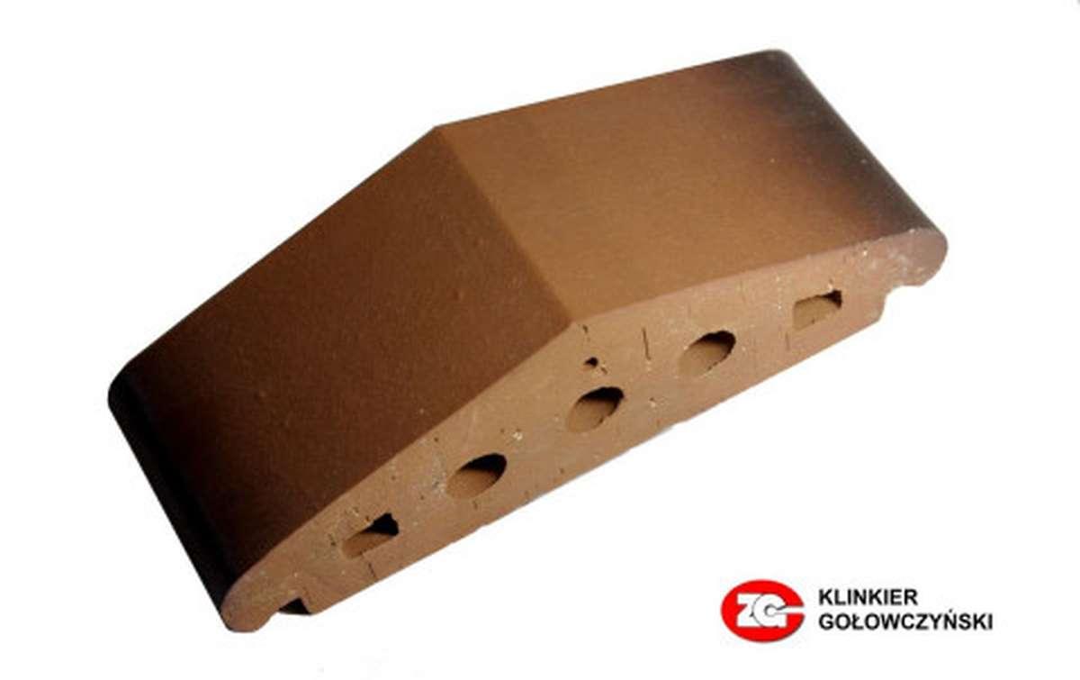 Профильный кирпич ZG, 170x110x65, каштановый