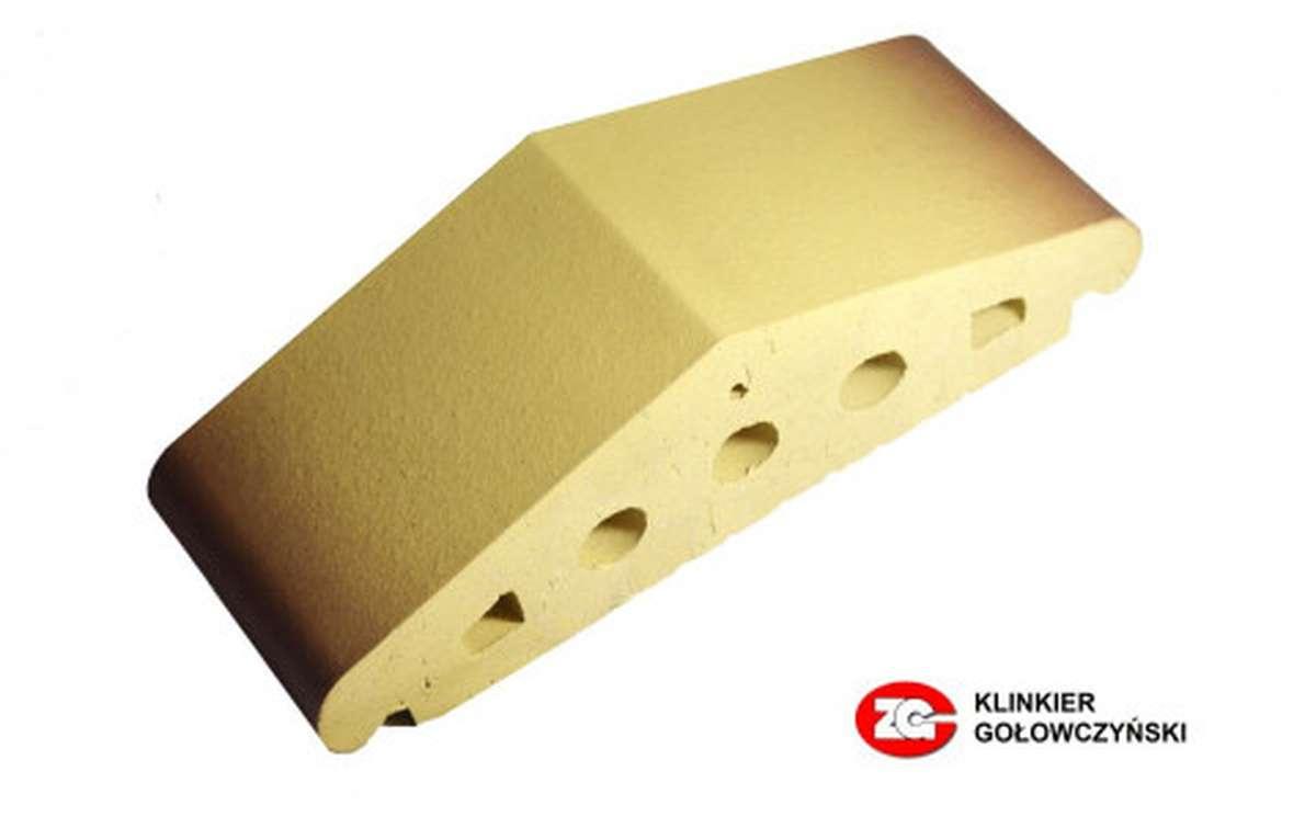Профильный кирпич ZG, 310x110x90, желтый тушевой