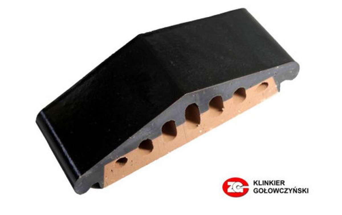 Профильный кирпич ZG, 310x110x90, темно-коричневый
