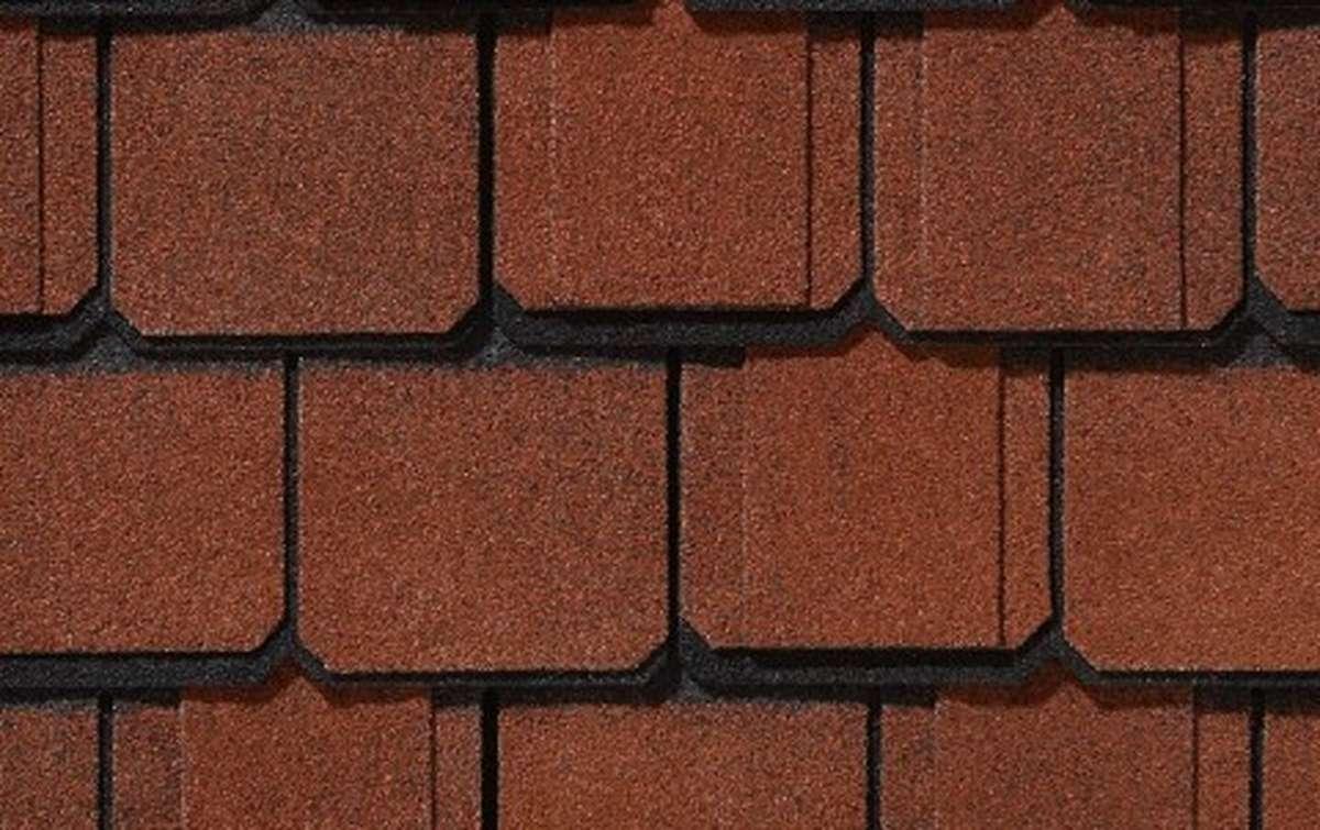 Гибкая черепица CertainTeed Grand Manor 1,858 кв.м трехслойная  Georgian Brick
