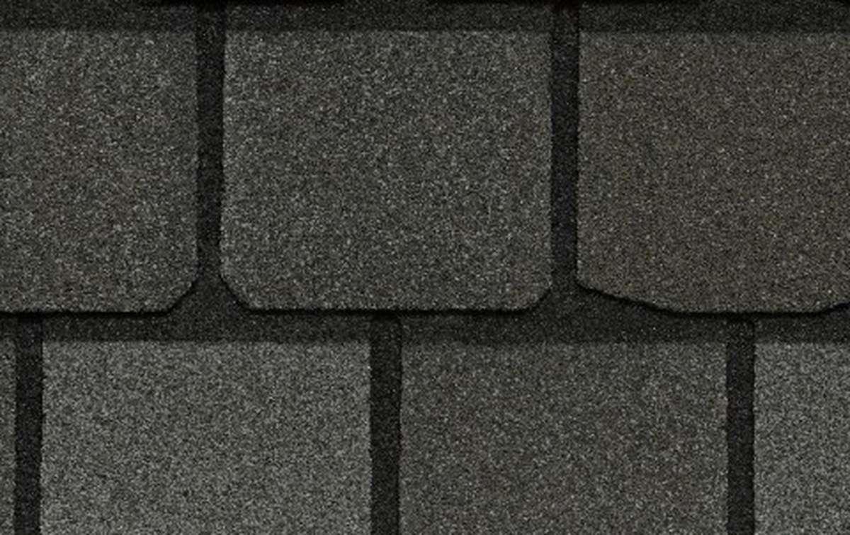 Гибкая черепица CertainTeed Highland Slate 2,98 кв.м однослойная  Smokey Quartz