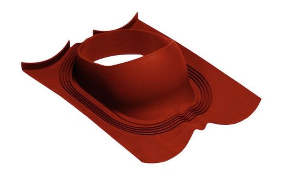 Проходной элемент VILPE Decra, красный