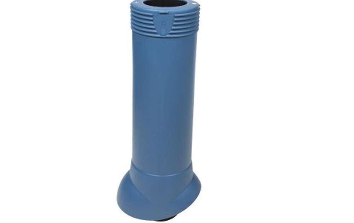 Вентиляционный выход VILPE изолированный (h=500, d=110/160), синий