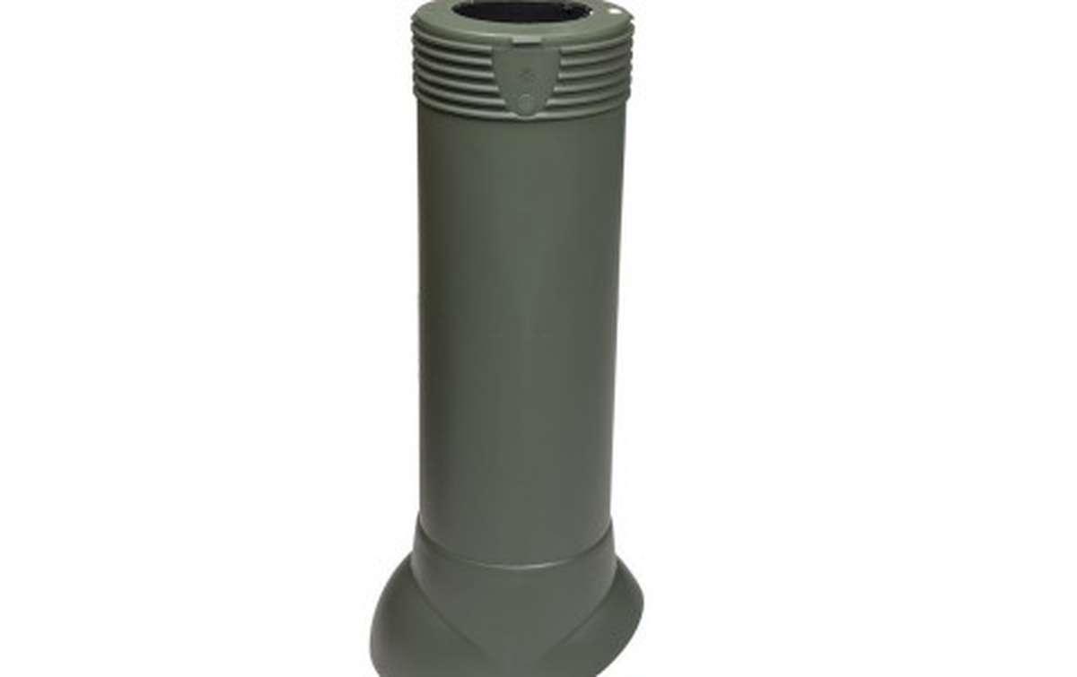 Вентиляционный выход VILPE изолированный (h=500, d=110/160), зеленый