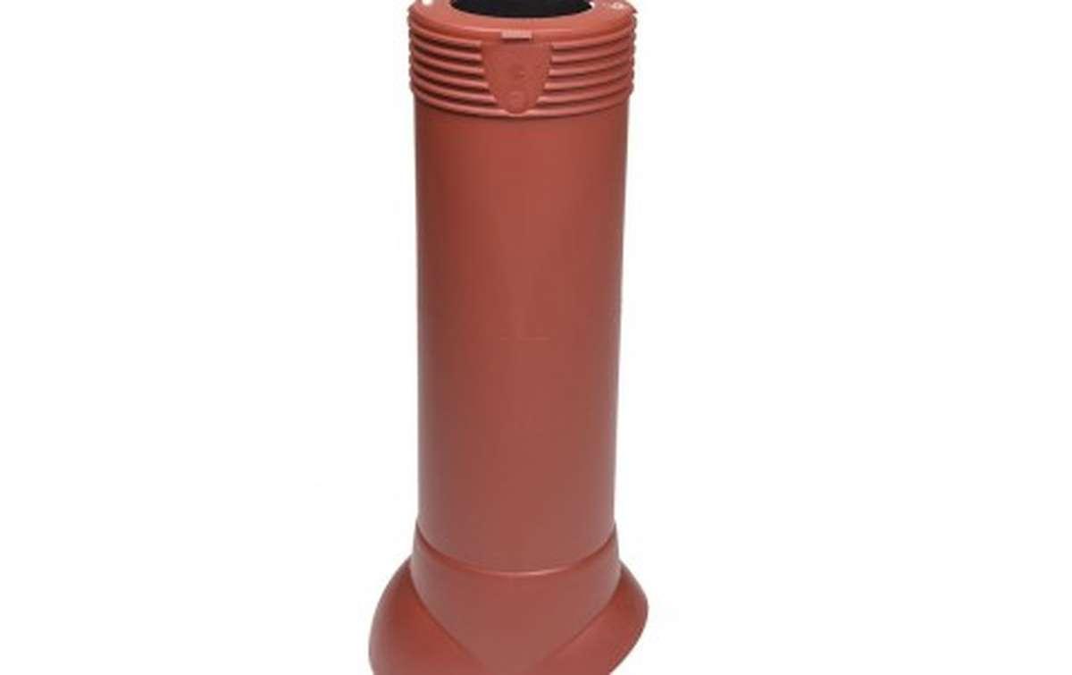 Вентиляционный выход VILPE изолированный (h=500, d=110/160), красный