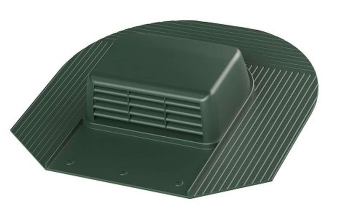 Вентилятор скатный VILPE Huopa KTV/Harja без адаптера, зеленый