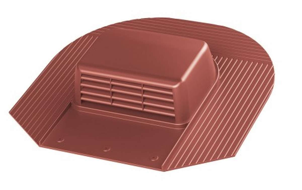Вентилятор скатный VILPE Huopa KTV/Harja без адаптера, красный