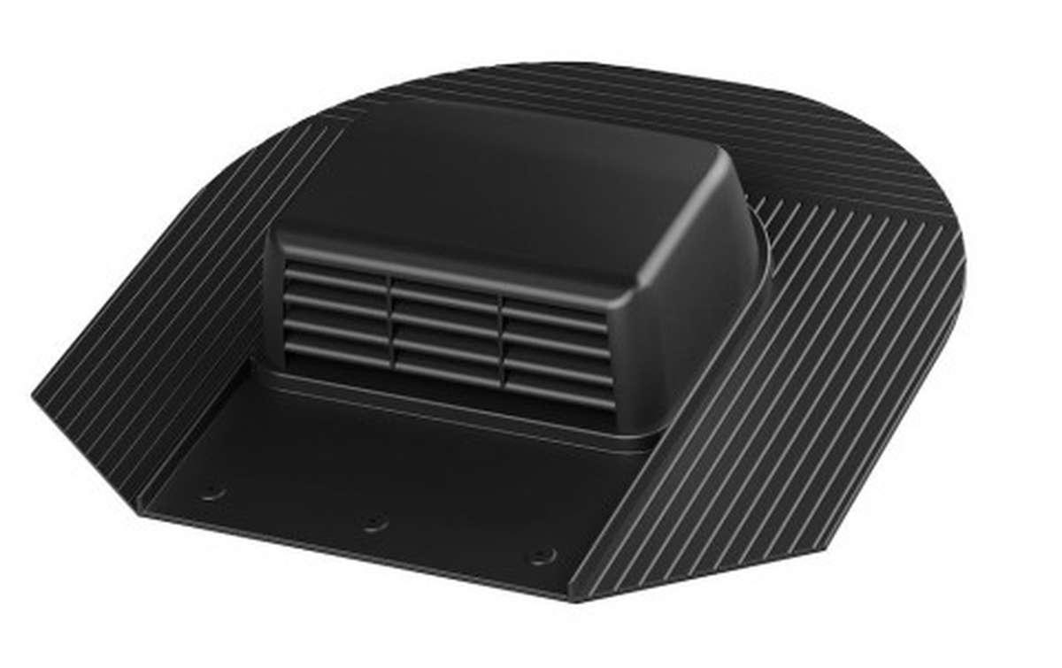 Вентилятор скатный VILPE Huopa KTV/Harja без адаптера, черный
