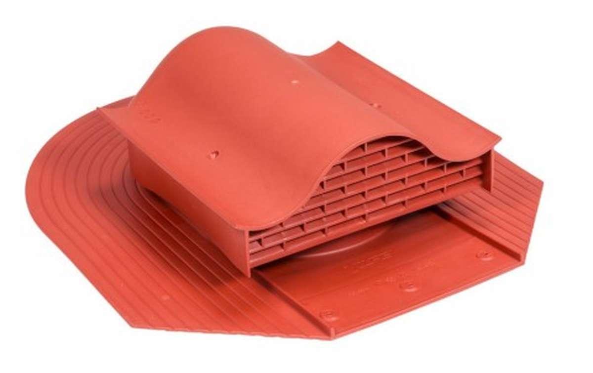 Вентилятор скатный VILPE Huopa KTV без адаптера, красный