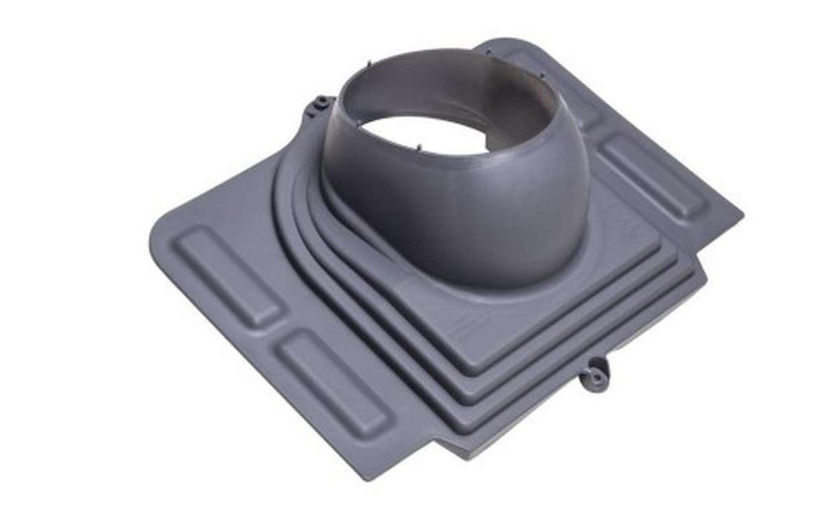 Проходной элемент VILPE Pelti, серый