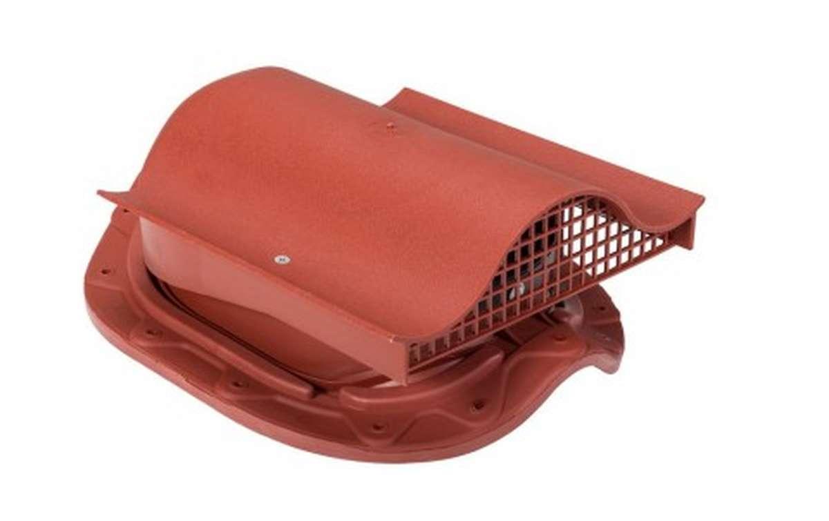 Вентилятор скатный VILPE Muotokate KTV без адаптера, красный