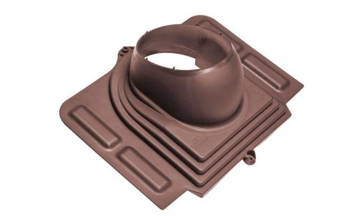 Проходной элемент VILPE Pelti, шоколадный
