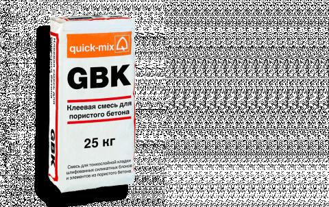 Кладочный раствор QUICK-MIX GBK, цвет серый