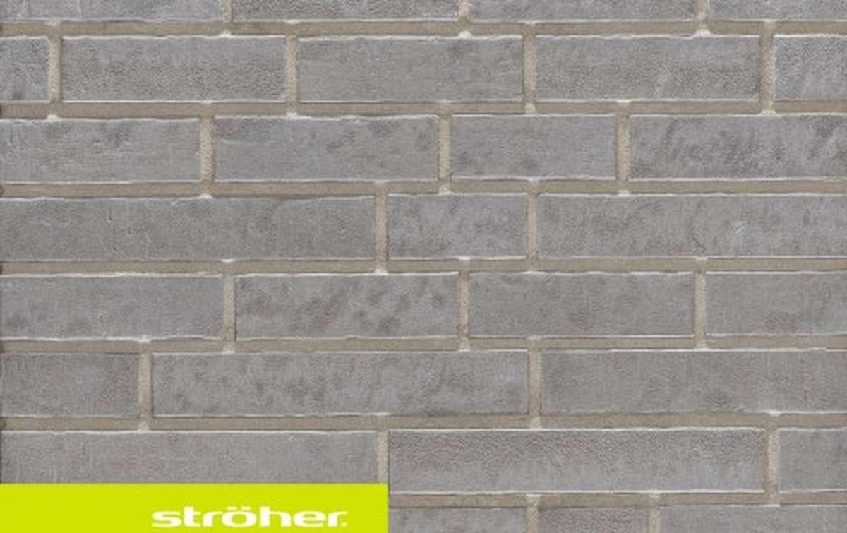 фасадная клинкерная плитка STROEHER austerrauch, размер  400x71x14