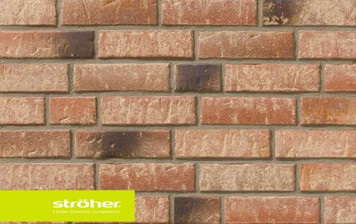 фасадная клинкерная плитка STROEHER backstein, размер  240x71x14