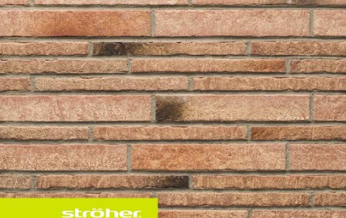 фасадная клинкерная плитка STROEHER backstein, размер  400x35x14
