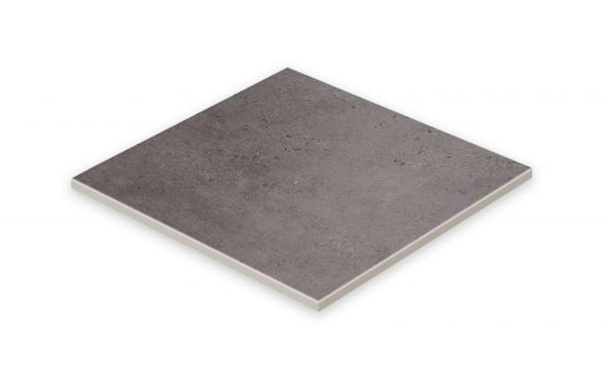 Клинкерная плитка STROEHER, E963 black, серия GRAVEL BLEND, размер 294x294x10