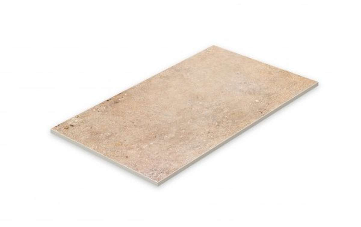 Клинкерная плитка STROEHER, E961 brown, серия GRAVEL BLEND, размер 594x294x10