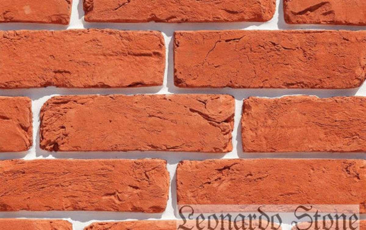 Фасадная плитка Leonardo Stone декоративный кирпич Орлеан 411