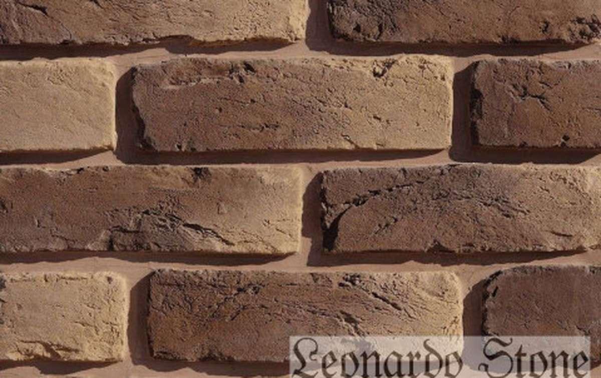 Фасадная плитка Leonardo Stone декоративный кирпич Орлеан 444