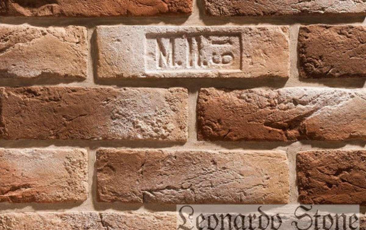 Фасадная плитка Leonardo Stone декоративный кирпич Орлеан 778