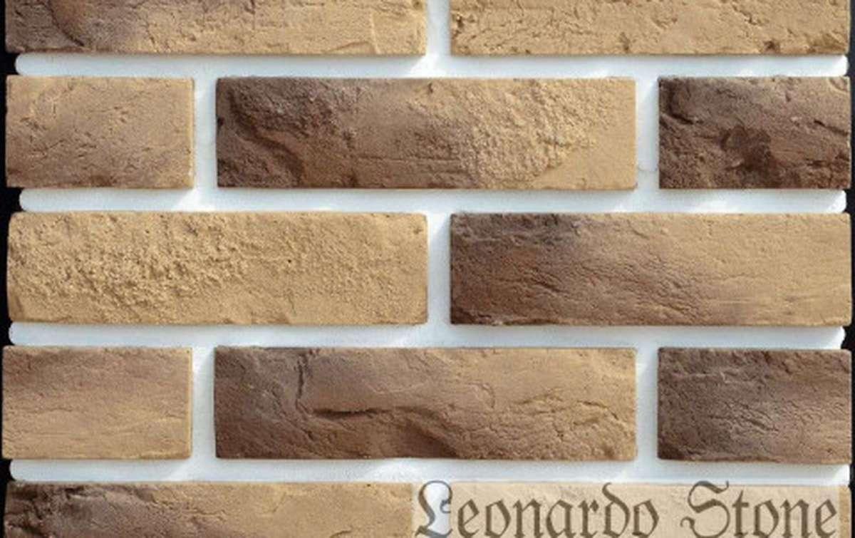 Фасадная плитка Leonardo Stone декоративный кирпич Прованс 444