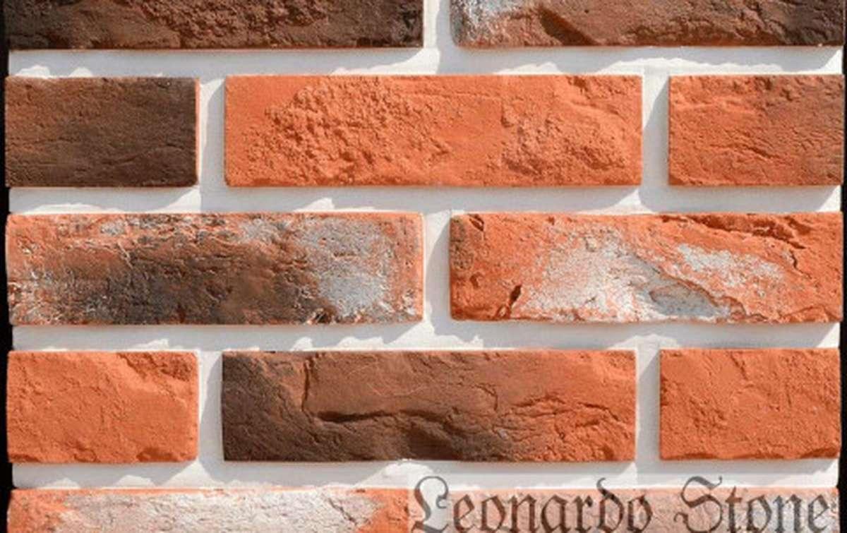 Фасадная плитка Leonardo Stone декоративный кирпич Прованс 480