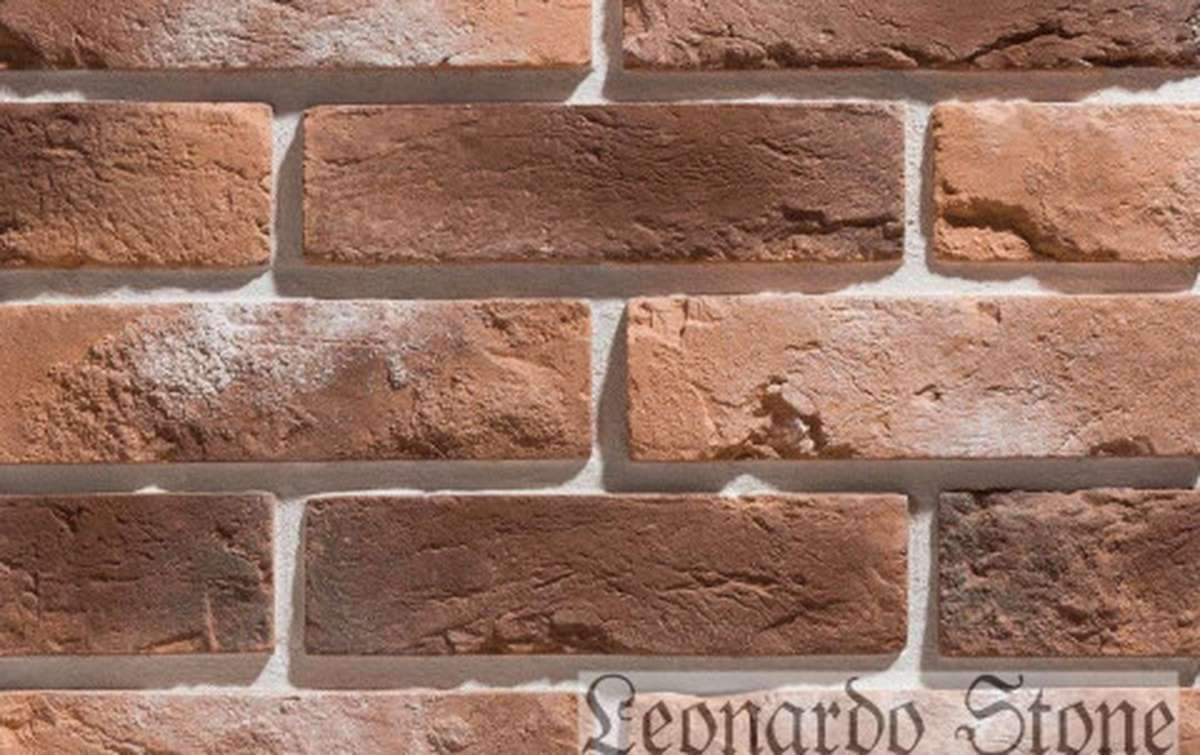 Фасадная плитка Leonardo Stone декоративный кирпич Прованс 485