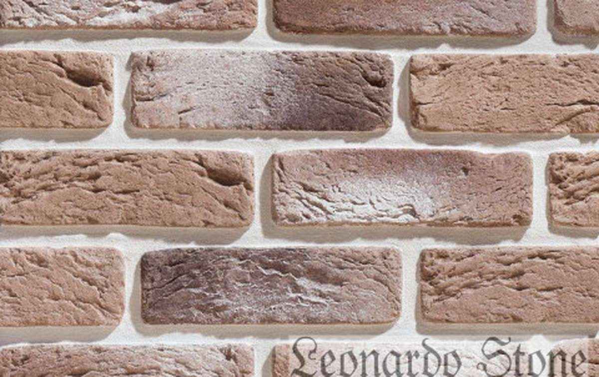 Фасадная плитка Leonardo Stone декоративный кирпич Руан 402