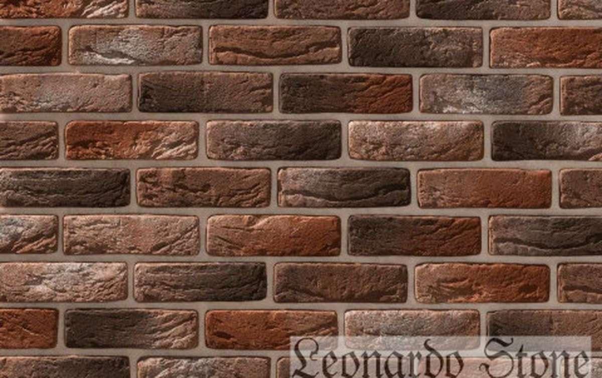 Фасадная плитка Leonardo Stone декоративный кирпич Руан 408