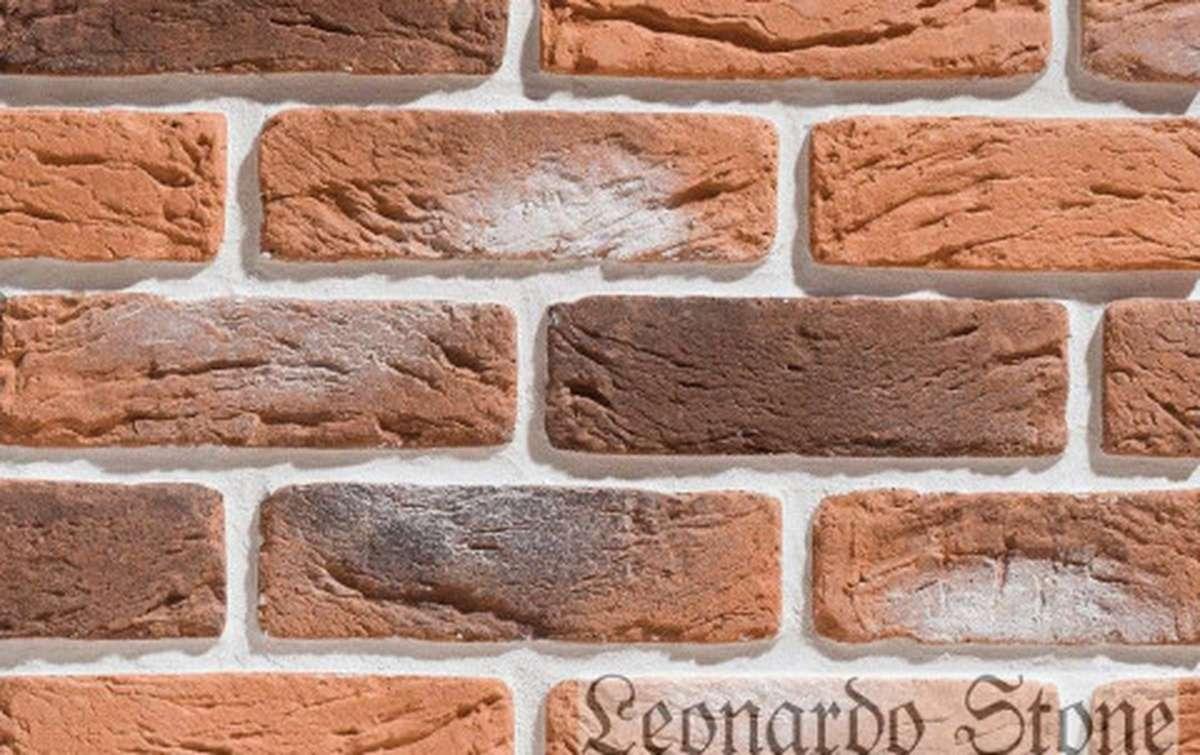 Фасадная плитка Leonardo Stone декоративный кирпич Руан 485