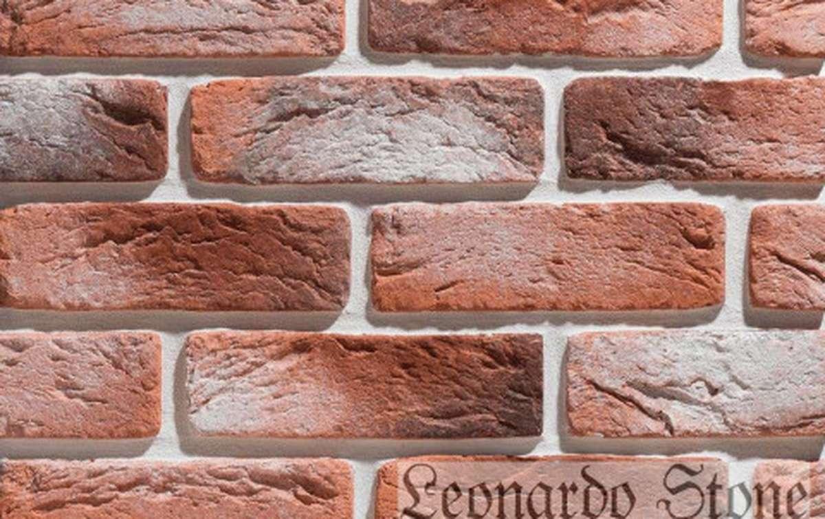 Фасадная плитка Leonardo Stone декоративный кирпич Руан 490